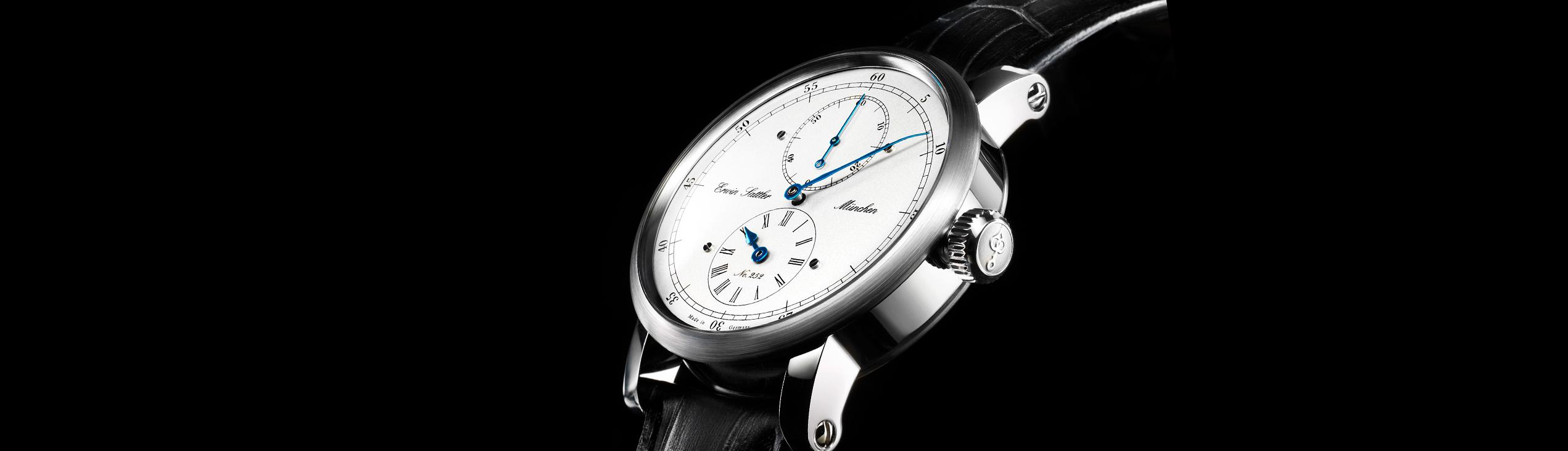 Erwin Sattler Armbanduhr-Classica-Secunda
