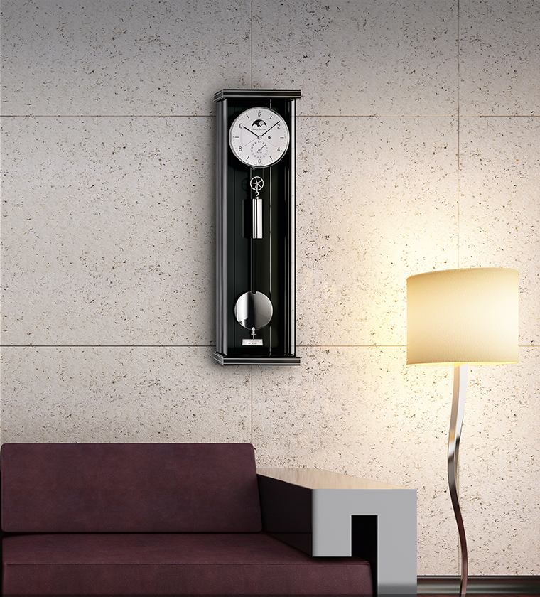 Regulator Pulley Clocks