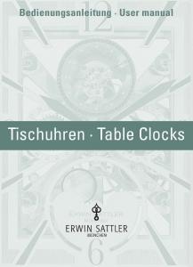 Titelbild Anleitung Tischuhren